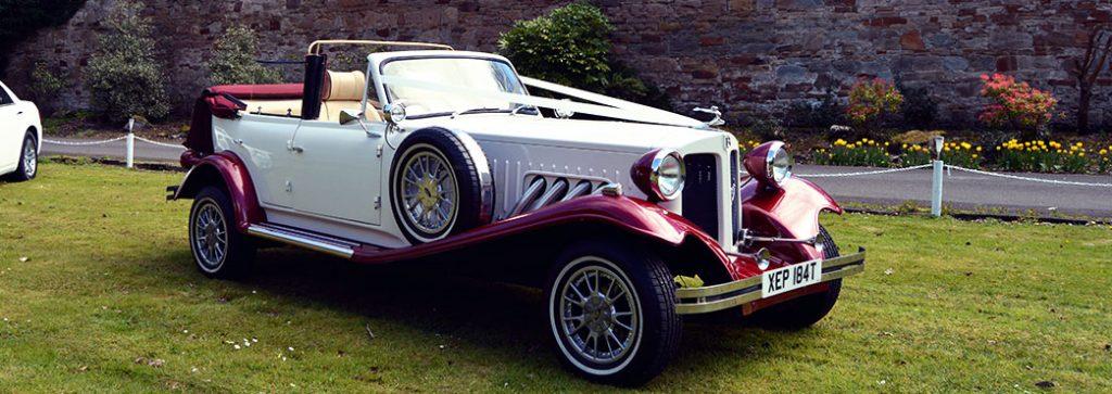 Wedding Car: Beauford Wedding Car : Ayrshire Wedding Cars