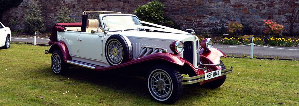 Beauford Wedding Car : Wedding Cars Ayrshire : Ayrshire Bridal Cars