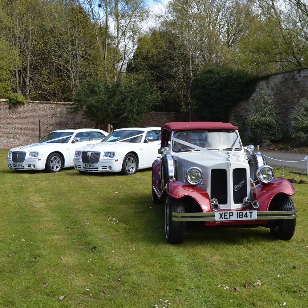 Wedding Car Packages : Wedding Cars Ayrshire : Multi Car Wedding Package