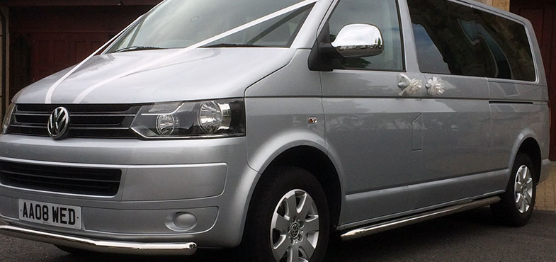VW 8 Seat Transporter : Wedding Cars Ayrshire : Ayrshire Bridal Cars