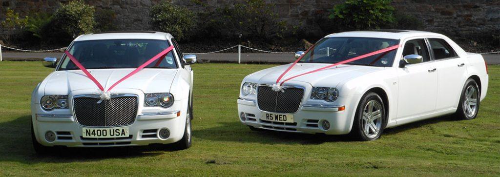 White Baby Bentley : Wedding Cars Ayrshire : Chrysler 300C