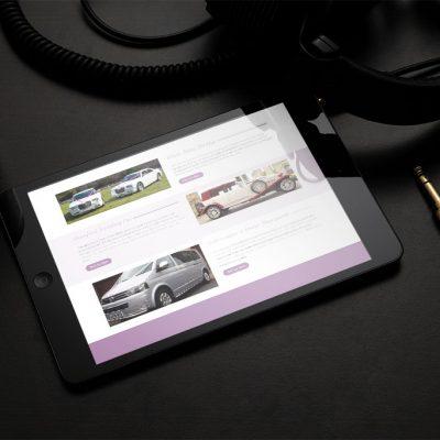 Ayrshire Wedding Car website