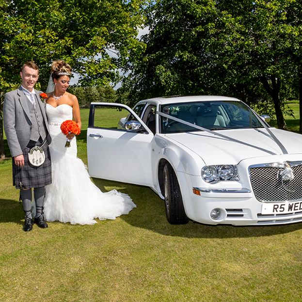 Wedding Car Packages : Wedding Cars Ayrshire : Venue Only Wedding Car Package